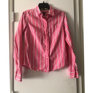 Pink American Eagle Button Down